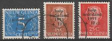 o NED.-NIEUW-GUINEA NVPH nrs. 22/24, Watersnood 1953. Cw. € 45,--