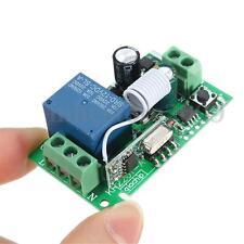 110-220V 315MHz 1CH Channel Wireless Relay Remote Control Switch Receiver DIY