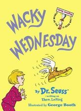 Beginner Books: Wacky Wednesday by Dr. Seuss - Hardcover in good condition