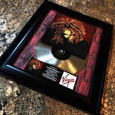 Janet Jackson The Velvet Rope Silver Record Music Award Album Disc