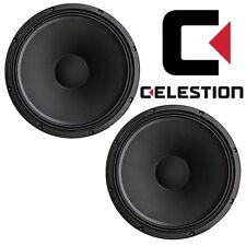 "Celestion TF1520 15"" Speaker 150 Watt RMS 8-ohm 45-4,000 Hz T5467AWD, PAIR 2 pcs"