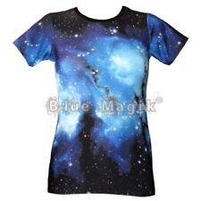 Camisetas de mujer de manga corta color principal azul