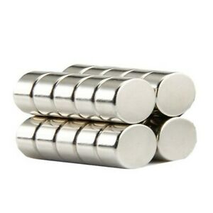 Super Strong 12mm by 3mm Rare Earth Neodymium Disc Magnets - Excellent Value!
