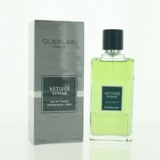 VETIVER EXTREME by Guerlain 3.4 OZ EAU DE TOILETTE SPRAY NEW in Box for Men