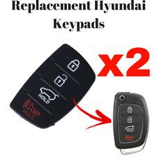 Hyundai Santa Fe Tucson Sonata ix35 ix20 ix45 i20 4 Butt. Remote K Pad X 2 (4cm)