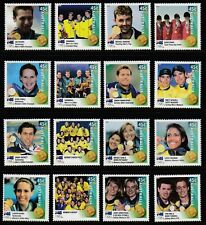 AUSTRALIA  2000 OLYMPIC GAMES GOLD MEDAL WINNERS LITHO SET SG 2027B - 2042B  MNH