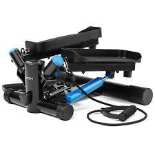 Elitum Swing Side Stepper Twister mit Computer und Expander Aerobic Fitness Step