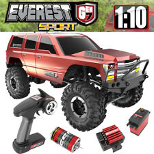 Redcat Racing 1/10 Everest Gen7 Sport Brushed Rock Crawler RTR Orange Truck