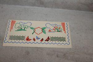 Pochette à serviette d'hôtel NEGRITA (papier gaufré) offert par les Ets Bardinet