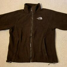 The North Face Khumbu ladies full zip fleece top jacket in brown - small size