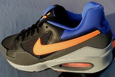 NIKE MENS AIR MAX ST SIZES  8, 9,11,11.5 BLACK ORANGE BLUE 652916-004