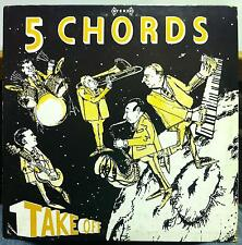 THE 5 FIVE CHORDS LP VG+ Private 1960s USA Doo Wop Surf Instrumental Signed MP3