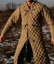 New Medieval Viking Camel Color Gambeson Renaissance Jacket For Armor Clothing