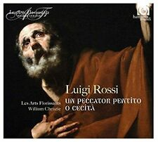 LUIGI ROSSI: 2 ORATORIOS NEW CD