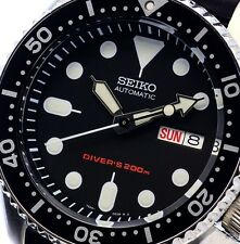 NEW MEN'S SEIKO 200M DIVER'S AUTOMATIC 21 JEWELS ANALOG SPORTS WATCH SKX007K1