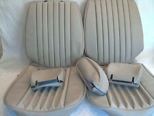 Mercedes Benz seat covers 380SL  Creme Beige Vinly