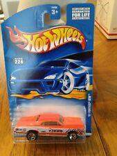 Hot Wheels '67 Pontiac GTO  2000 Collector #226 Orange W/Tiger Racing LotHW #050