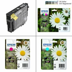 Genuine EPSON T1801 T1802 T1803 T1804 T1806 / XL (Daisy) Original Ink Cartridges