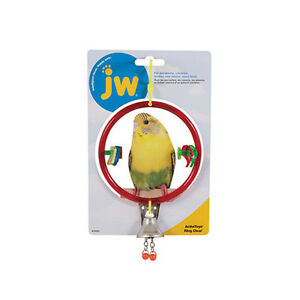 JW Pet Activitoy Ring Clear  Ass Colors(Free Shipping in USA)