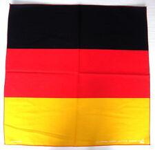 GERMANY German Flag BANDANNA Deutschland Flag Handkerchief Cotton Head Scarf