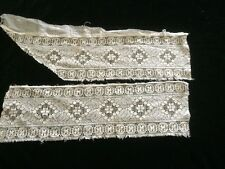 Antique Lace Salvage Bonnet Dolls Bonnets Hat Costume Clothes