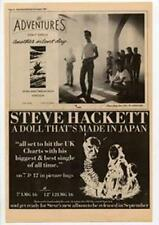 Steve Hackett Genesis A Doll That's Made In Japan Advert NME Cutting 1984