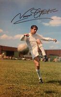 Signed Norman Hunter Leeds United Photo (1)