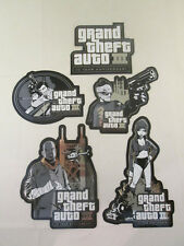 GTA Grand Theft Auto III 10 Year Anniversary Sticker Set - 5 Stickers - Rockstar