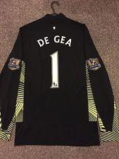 Manchester United 2011/12 PORTIERE Camicia Adulti (S) maniche lunghe 1 DE GEA Quintana