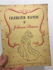 Celebrated Waltzes Johann Strauss Paperback Boosey Hawkes Publication