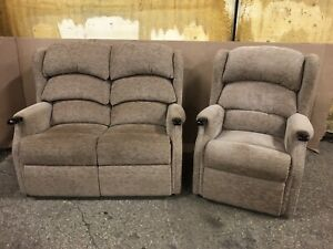 HSL 2 Seater Sofa And Armchair Very Clean Pieces Hardly Been Used