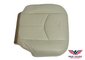 2003 2004 2005 2006 GMC Yukon XL 1500 2500 Driver Bottom Leather Seat Cover Tan