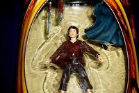 """LORD OF THE RINGS TWO TOWERS ELVEN CLOAKED FRODO 6"""" ACTION FIGURE TOYBIZ 2002"""