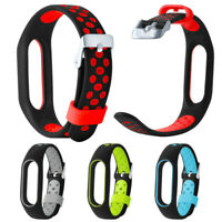 -Lightweight Ventilate TPE Wrist Strap Wristband Bracelet For Xiaomi Mi Band 2 *