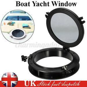 Black Boat Yacht Porthole 10'' Opening Window Port Hole Portlight Hatch