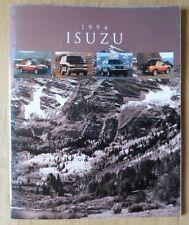 ISUZU SERIE ORIG 1994 USA inchiostri SALES BROCHURE-Amigo RODEO TROOPER PICK UP