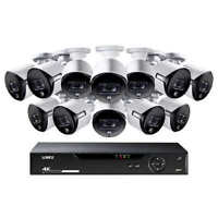 NEW Lorex LHV51163T12KXB 4K UHD 3TB Security Surveillance System 12 Camera 16-CH