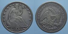 USA 1/2 DOLLARO 1854 O SEATED LIBERTY BB