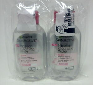 Garnier SkinActive - Micellar Cleansing Water All-in-1 - Removes Makeup + Cle...