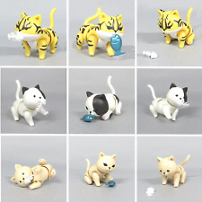 Blind Box Toy White Black Tiger Cat  Nendoroid Accessories 1 Random Figure