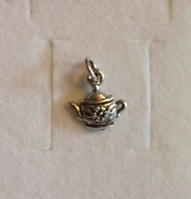 STERLING SILVER I'm a little Tea Pot Charm 1.2 grms.