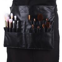 28 Pockets Pro PU Makeup Cosmetic Brush Apron Bag Pouch Artist Belt Strap
