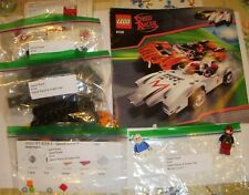 Lego Set 8158 Speed Racer and Snake Oiler-100% Complete with Manual & Minifigs