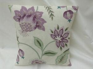 Lovely Laura Ashley Designer Cushion Cover MILFORD GRAPE Fabric Various Sizes