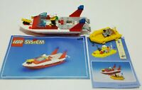 Lego City #6429 Blaze Responder w/ Figures & Instructions - Unboxed See Pictures