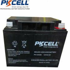 PKCELL Sealed Lead Acid Battery 12V 40Ah Rechargeable AGM SLA Battery
