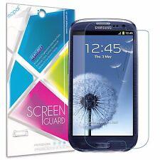 9x Samsung Galaxy S3 i9300 Screen Protector Anti-Glare Matte