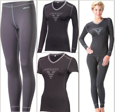 Vanucci Coolmax Ladies Longsleeve Pants T-Shirt Base Layer Quick-drying FastPost