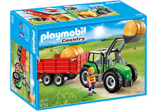 Playmobil Country Tractor con Trailer 6130