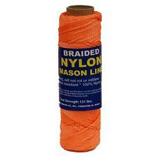 T.W. Evans Cordage Co. 12-520 - #1 Braided Nylon Mason 500' Orange NEW